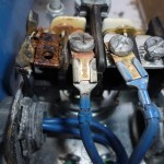 Pressure switch with burned contacts 2
