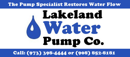 Lakeland Water Pump Co - well pump replacement - Hopatcong NJ